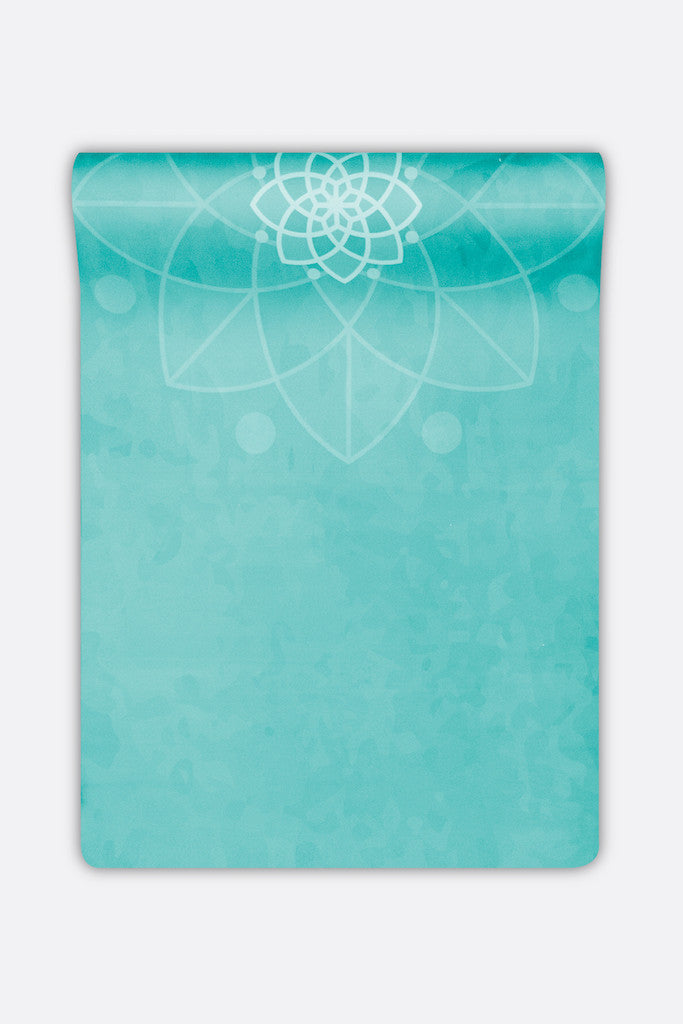 Yoga Mat,Printed,Natural Rubber,identifeel