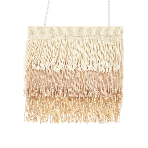 Agatha Clutch Beige-From St Xavier