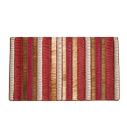 Andromeda Foldover Clutch Red/Gold-From St Xavier