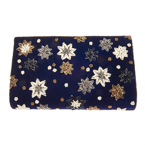 Azalea Clutch Navy-From St Xavier
