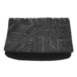 Blaze Clutch Black-From St Xavier