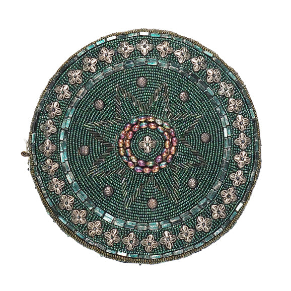 Celestial Circle Bag Green-From St Xavier