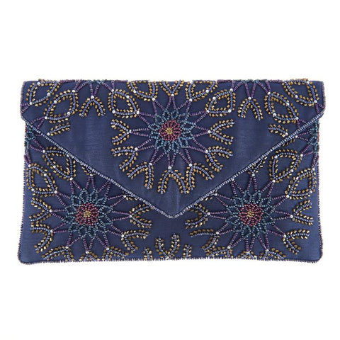 Chan Clutch Navy-From St Xavier