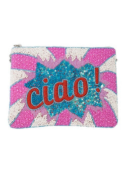 Ciao Zip Clutch-From St Xavier