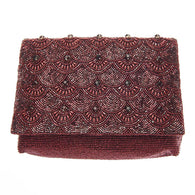 Colden Clutch Maroon-From St Xavier