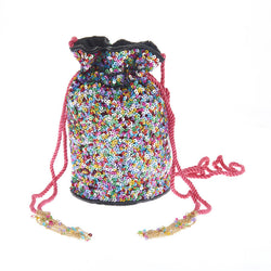 Confetti Drawstring Bag