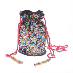 Confetti Stars Drawstring Bag-From St Xavier