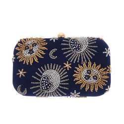 Crescent Box Clutch-From St Xavier