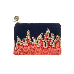 Flames Mini Purse-From St Xavier