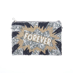 Forever Clutch Silver-From St Xavier