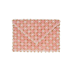 Baxter II Clutch Dusty Pink-From St Xavier