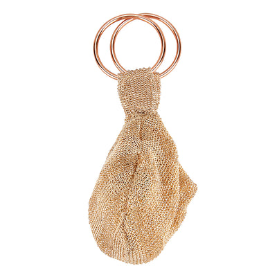 Goldie Ring Bag Champagne-From St Xavier