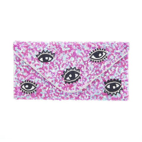 I Spy Clutch Pink-From St Xavier