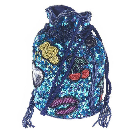 Icons Drawstring Blue-From St Xavier