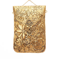 Jasmine Bag Gold-From St Xavier