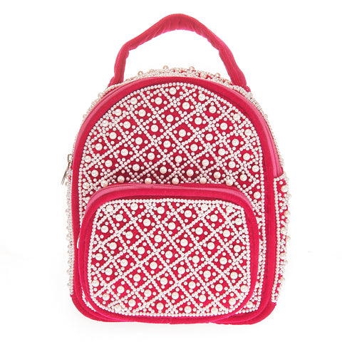Kari Backpack Pink-From St Xavier