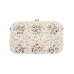 Keziah Box Clutch Ivory-From St Xavier