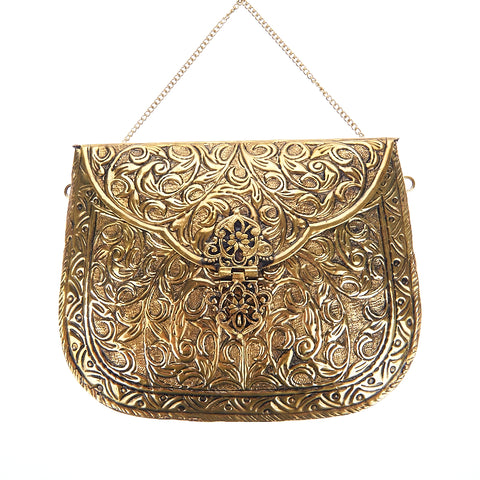 Leah Bag Gold-From St Xavier