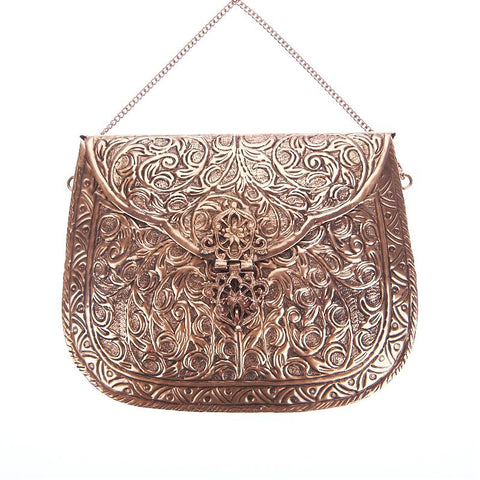 Leah Bag Rose Gold-From St Xavier