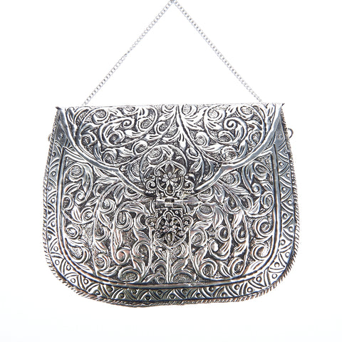 Leah Bag Silver-From St Xavier