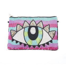 Live Clutch Pink Blue-From St Xavier