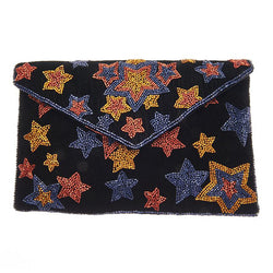 Luella Clutch Navy-From St Xavier