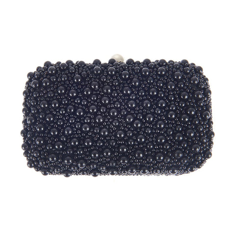 Marcela Box Clutch Black-From St Xavier