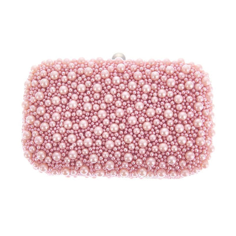 Marcela Box Clutch Pink-From St Xavier