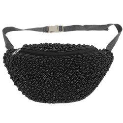 Marcella Waist Bag Black-From St Xavier