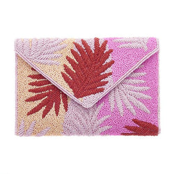 Miami Clutch Pink-From St Xavier