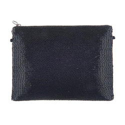 Olwen Clutch Black-From St Xavier