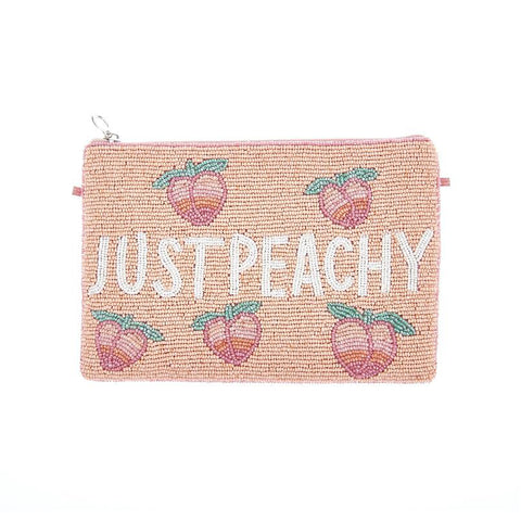 Peachy Clutch Peach-From St Xavier