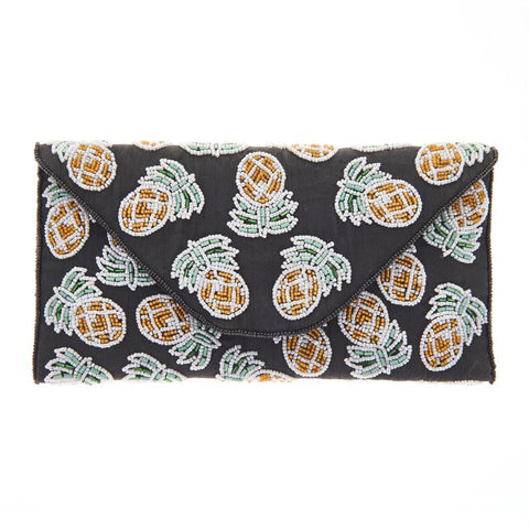 Pina Clutch Black-From St Xavier