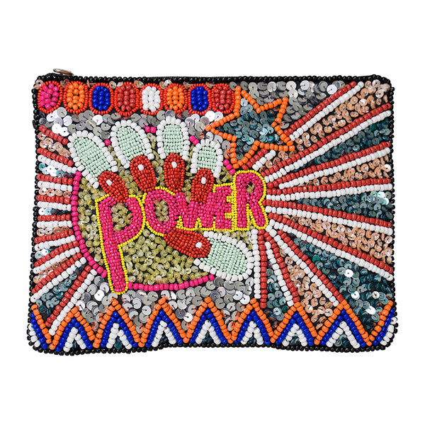 Power Zip Clutch Multi-From St Xavier
