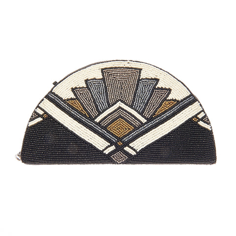 Silas Clutch Black-From St Xavier