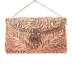 Tahiti Bag Rose Gold-From St Xavier