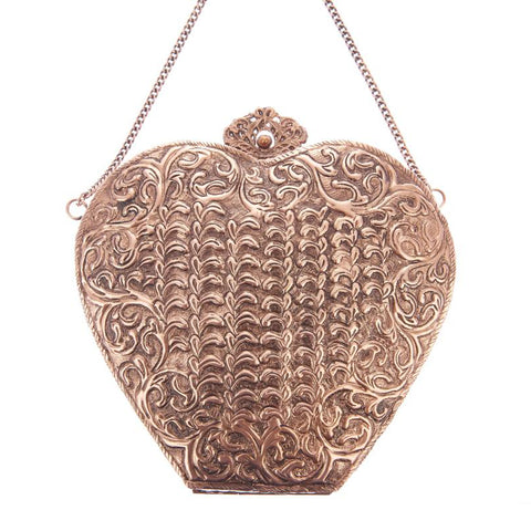 Valentina Bag Rose Gold-From St Xavier