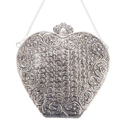 Valentina Bag Silver-From St Xavier