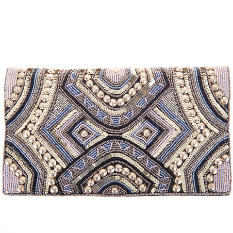 Ziggy Foldover Clutch-From St Xavier