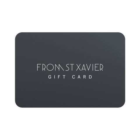 Gift Card-From St Xavier
