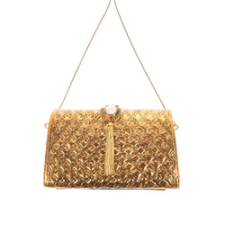 Zara Bag Gold-From St Xavier