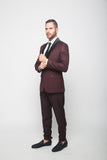 Ox Blood Dinner Jacket