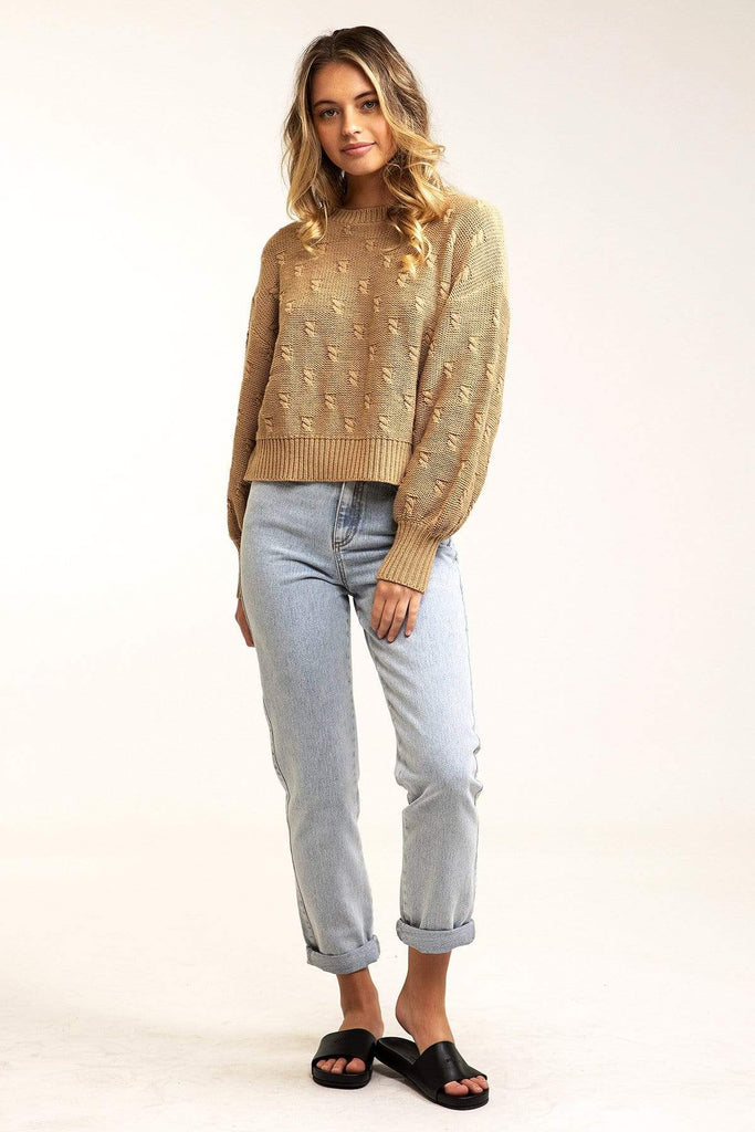 Rhythm La Vida Cropped Sweater