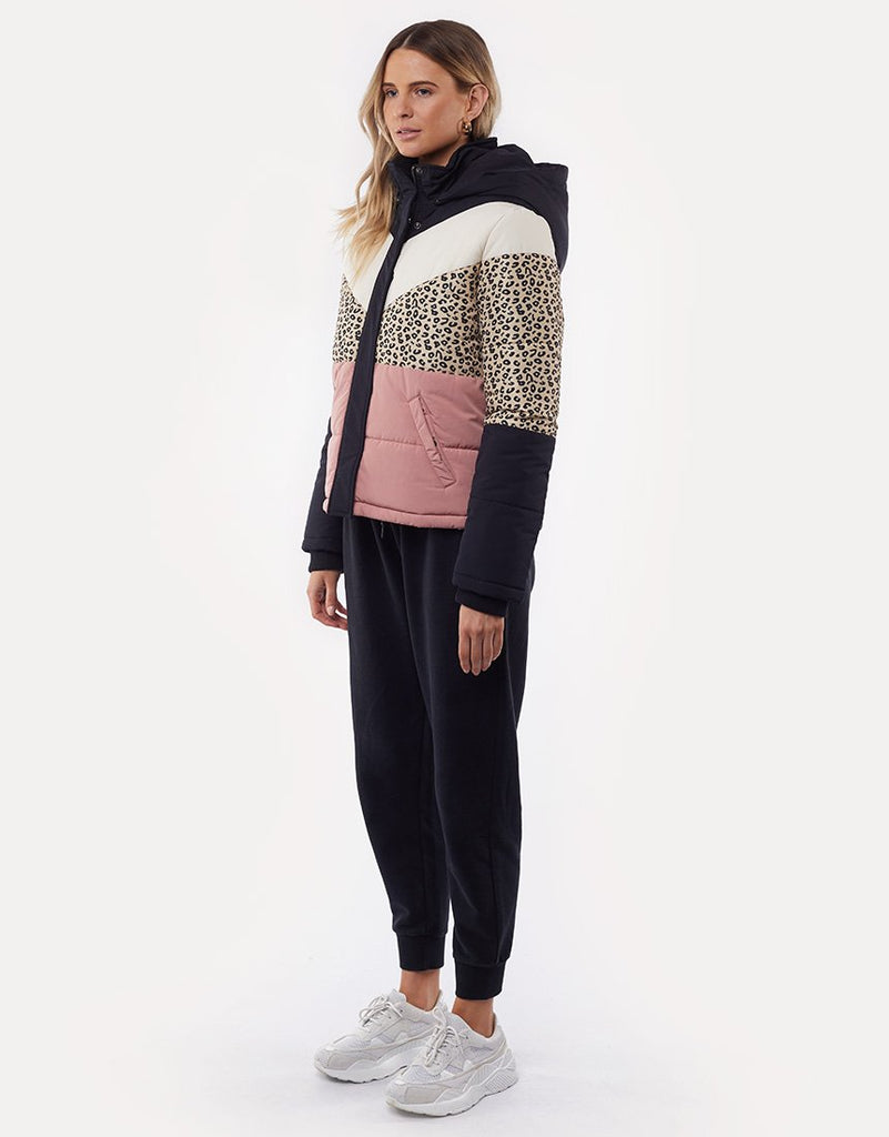 All About Eve Distinct Panel Puffer