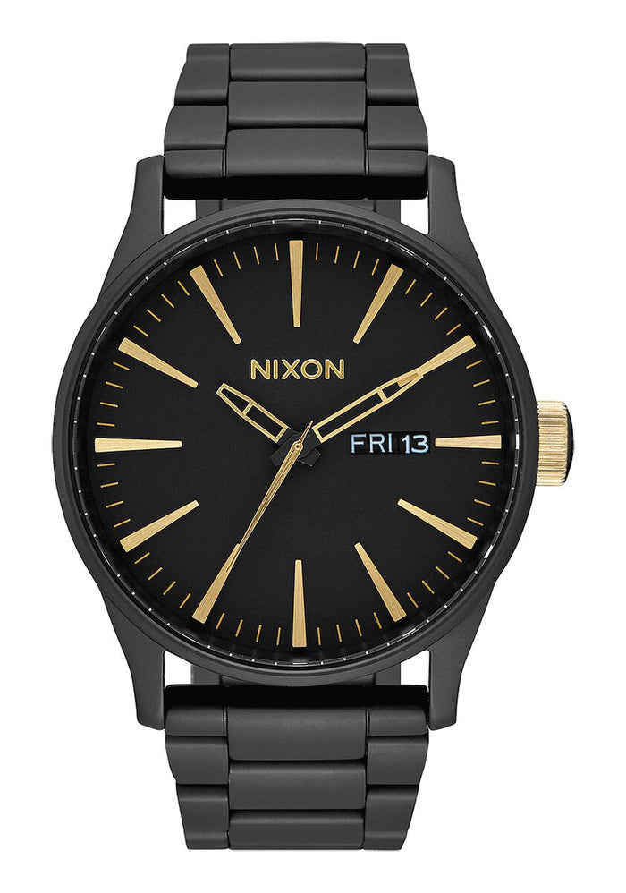 Nixon Sentry SS Matte Black/Gold