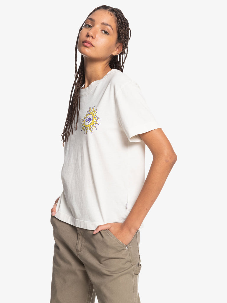Quiksilver Womens Colorful Land Tee