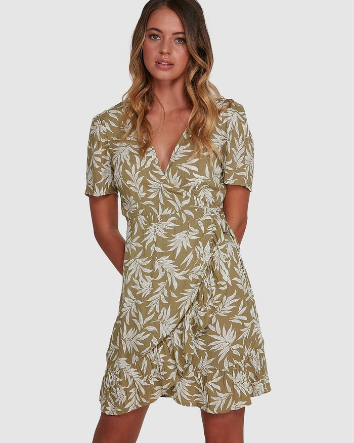Billabong Lei Lei Wrap Dress