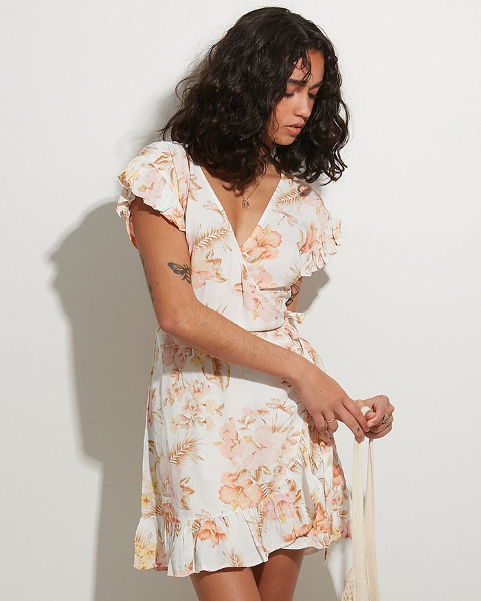 Billabong Shallows Wrap Dress