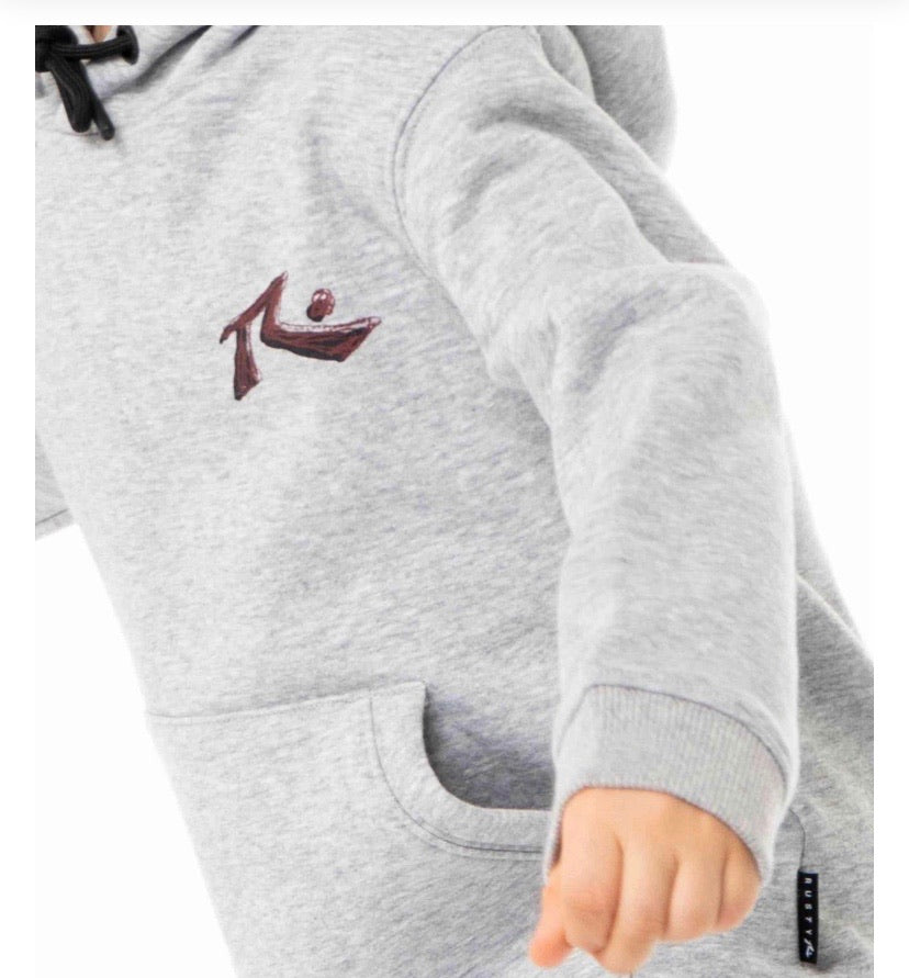 Rusty Fit Out Hooded Fleece - Runts
