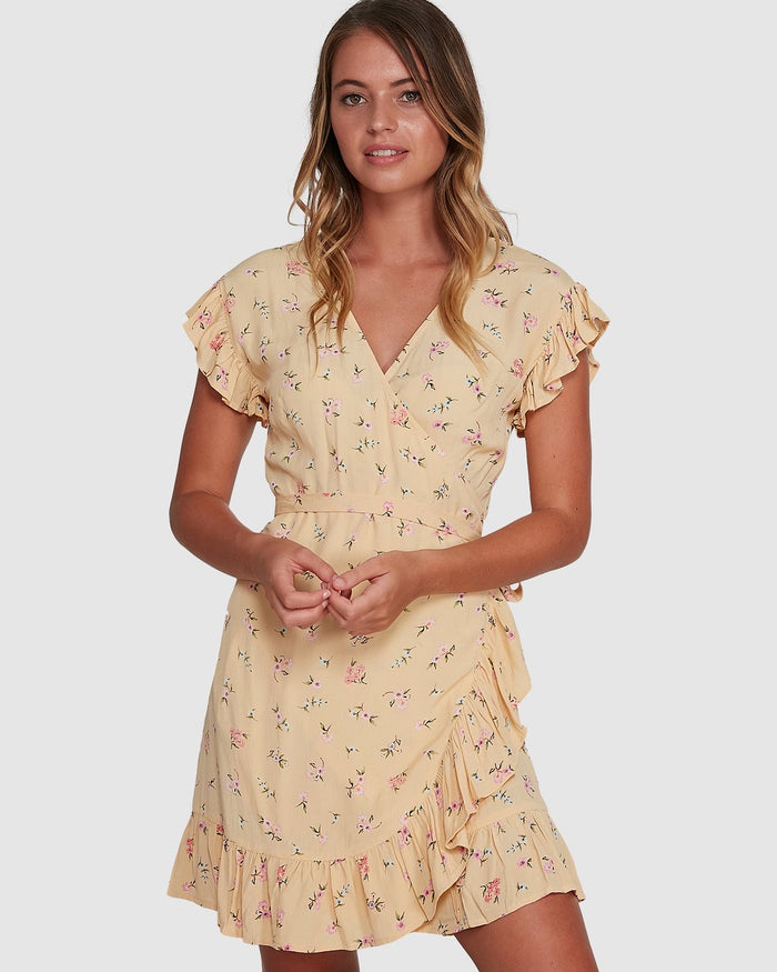 Billabong Pretty Moon Wrap Dress